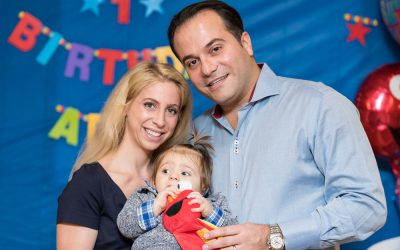 Adam Pinchasi's 1st Birthday
