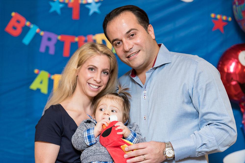 Adam Pinchasi's 1st Birthday